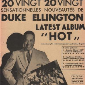 Duke Ellington quatrième album «Hot «