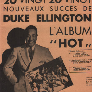 Duke Ellington troisième Album «Hot»
