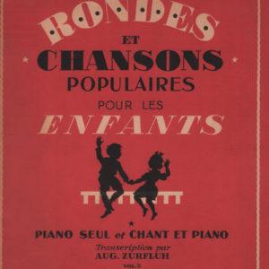 Rondes et chansons populaires pour les enfants