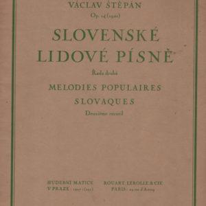 Slovenské lidové pisné