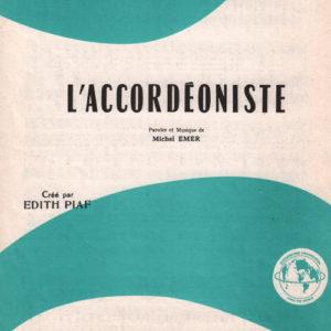 Accordéoniste (L')