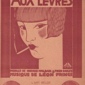 Cigarette aux lèvres (Une)