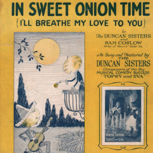 In sweet onion time